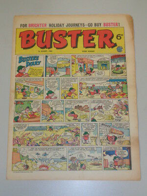 Buster 1St August 1964 Fleetway British Weekly Comic*