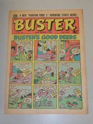Buster 1St July 1961 Fleetway British Weekly Comic*