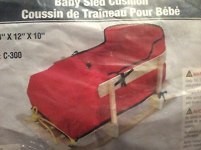 Jab Cushion for wood baby sled