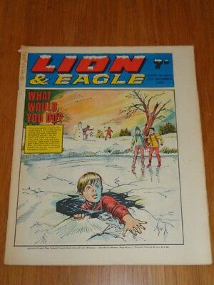 Lion And Eagle 27Th December 1969 Fleetway British Weekly Comic Christmas Issue*