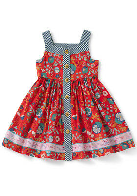 Matilda Jane High Road dress NIB size 10 4th of July Patriotic Red White Blue