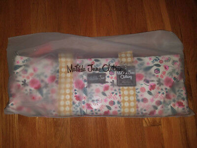 Matilda Jane Going Somewhere Tote NIB Huge Floral Overnight Bag Weekender