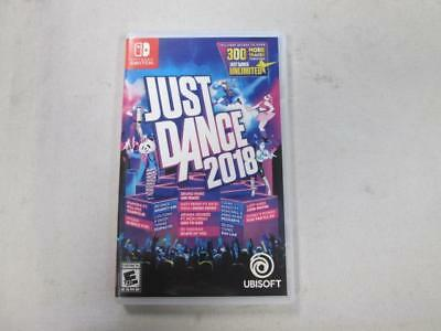 Just Dance 2018 (Nintendo Switch, 2017) *Used*