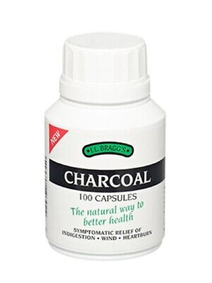 Charcoal Tablets, 100 Tablets (Braggs)