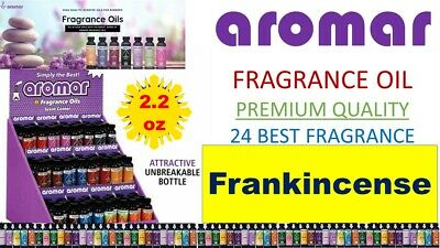 Aromar Aromatherapy Essential Fragrance 100% Concentrated Oil 2.2oz FRANKINCENSE
