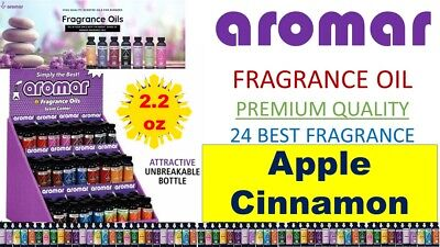 Aromar Aromatherapy Fragrance 100% Concentrated ESSENTIAL OIL 2.2 APPLE CINNAMON