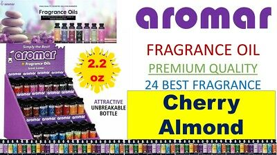 Aromar Aromatherapy Essential Fragrance 100% Concentrated Oil 2.2 CHERRY ALMOND