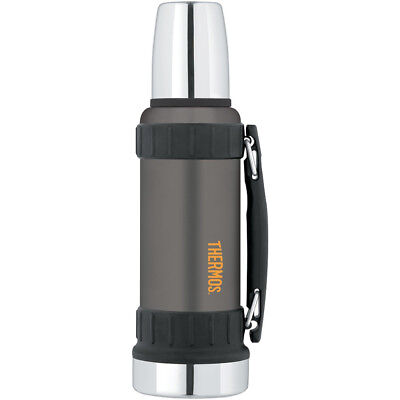Thermos 40 oz. Work Series Stainless Steel Beverage Bottle - Matte Gray