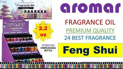 Aromar Aromatherapy Essential Fragrance 100% Concentrated Oil FENG SHUI