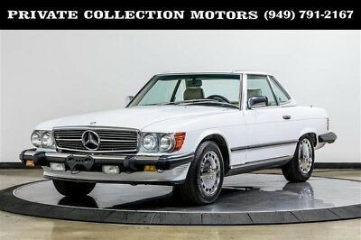 1989 Mercedes-Benz SL-Class  1989 Mercedes-Benz 560SL 560SL 560 Series Immaculate Original Miles