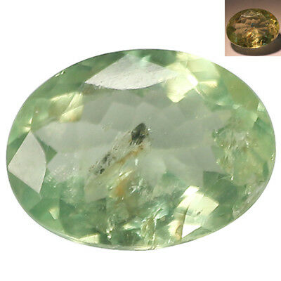 0.97Ct Sensational Oval cut 7 x 6 mm Blue Green to Red Color Change Alexandrite