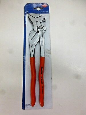 "New!! Knipex Pliers Wrench, 12"", 86 03 300"