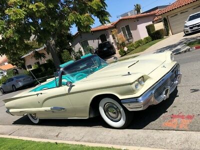 1959 Ford Thunder Bird  1959 T-bird Restored to new Excellent condition