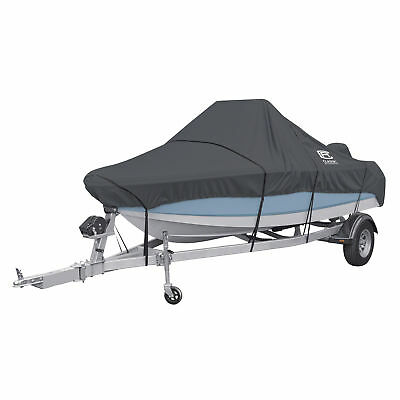One New Stormpro Ctr Console Boat Cover Charcoal - Mdl E 20-304-121001-Rt