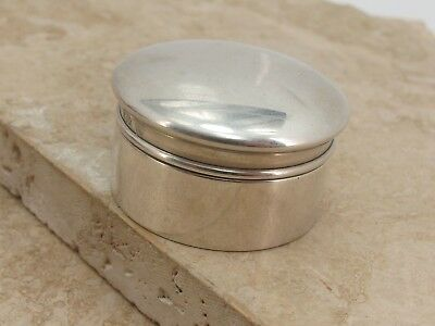 Vintage Antique Silver Pill Box