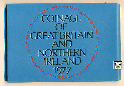 1977Royal Mint,Coinage Of Great Britain And Northern Ireland Prf Coin Set(OOAK)