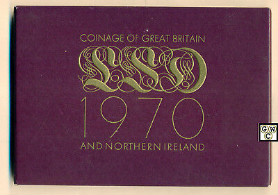 1970 Coinage of Great Britain And Northern Ireland Proof Set (OOAK)