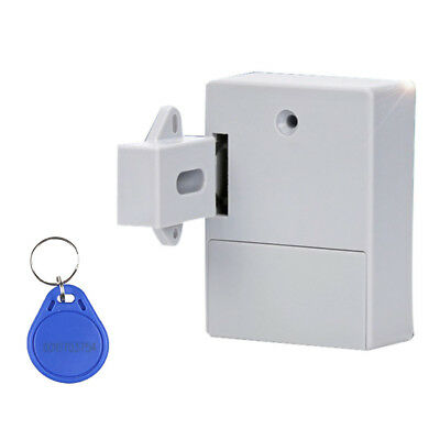 Silver Drawer Cupboard Cabinet Lock Latch Baby Safety Catch Doorlock Keyless