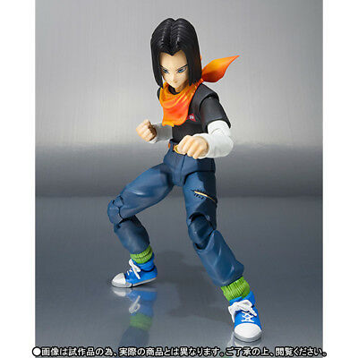 S.H. Figuarts Dragonball Z Android 17 action figure Tamashii exclusive Bandai