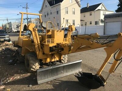 Vermeer V430 A Trencher with Backhoe