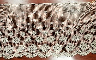 Antique Vintage Lace Lot 5 Inches By 5 1/2 Yards