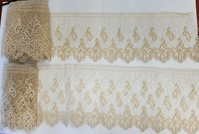 Antique Vintage Lace  Lot 4 Inches Wide By 5 Yards