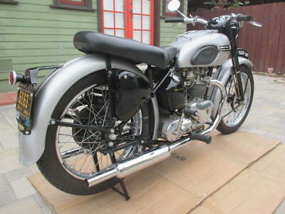 1951 Triumph Tiger  1951 Triumph T100 Tiger Quality Restoration Matching Number Bike, CA black plate