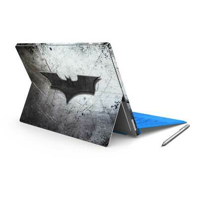 Bat Signal Removable Vinyl Skin Sticker Wrap to cover Surface Pro Back & Sides