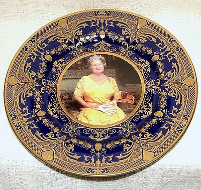 MIB CAVERSWALL Limited Edition PRESTIGE PLATE Queen Mother Farewell Tribute 2002