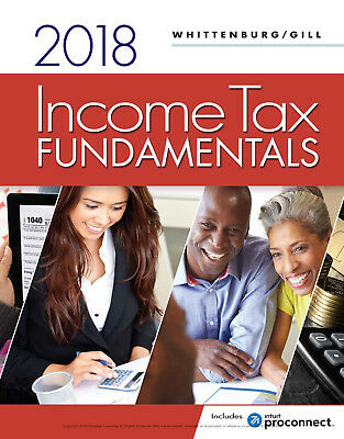 Whittenburg Gill Income Tax Fundamentals 36th Ed 2018