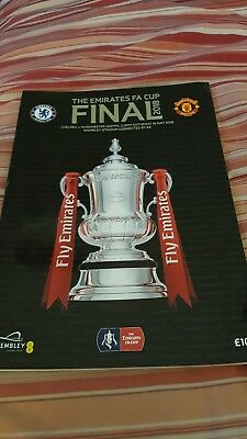 Manchester United V Chelsea Fa Cup Final Sat 19Th May 2018.mint. (Cheapest).