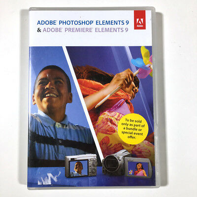 Adobe Photoshop Elements 9 & Premiere Elements 9 Windows Mac with Serial Numbers