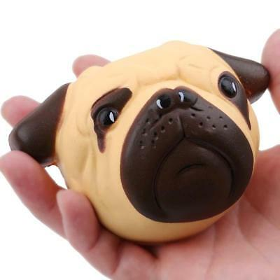 Squishy Pug Dog Animal Scented Squeeze Toys Slow Rising Stress Relife JJ