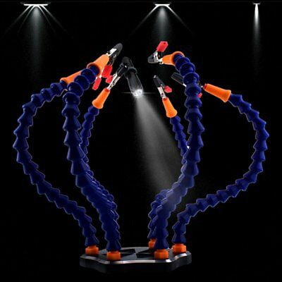6 Flexible Arms With Clip Soldering Helping Hands for FPV Board Station TL