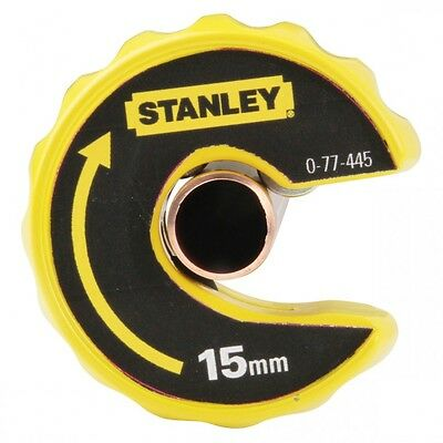 Stanley Plumbing Automatic Pipe Cutter 15mm Copper Pipe Slice 0-70-445