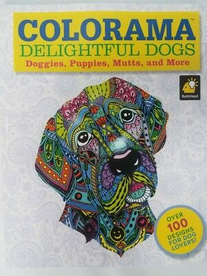 Adults Coloring Books for Stress Relief - Dog Patterns