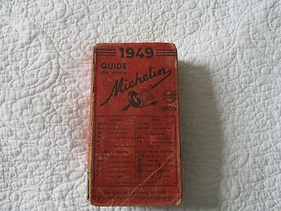 guide michelin 1949