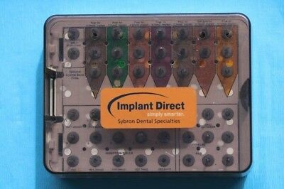 Implant Direct Not Complete Surgical Tray Set