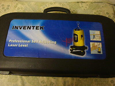 Inventek Professional Self Adjusting Rotary 360 deg Laser Level