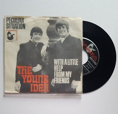 THE YOUNG IDEA - PECULIAR SITUATION / WITH A LITTLE HELP ++ Hansa 19576 AT