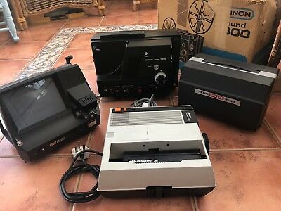 Vintage photgraphy equipment for film and slides