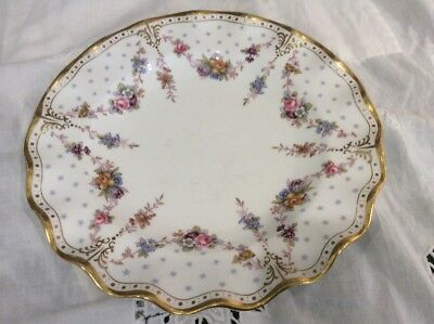 "Royal Crown Derby-Royal Antoinette English Bone China Salad 8""Plate Priced EACH"