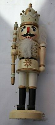 German wooden King Nut Cracker-as bought on Xmas Manchester markets!