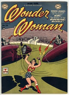 Wonder Woman #34 F/vf 7.0 Duke Of Deception And Paula Von Gunther Appearance
