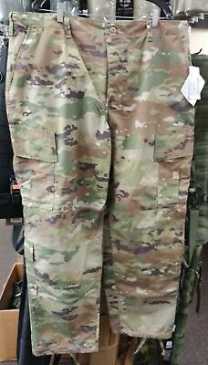 US MILITARY ISSUE Ripstop Trousers Ocp Scorpion Multicam
