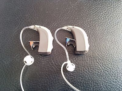 Programming + 2X Bernafon BTE Open Fit Thin Tube Hearing Aid over the Ear
