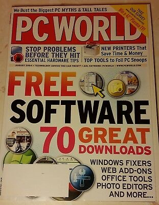 PC World magazine - Aug 2004