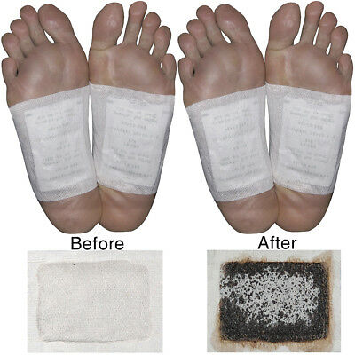 NEW (Set/12 Kits) Himalayan Mountain Salts Foot Detox Patches 100% All-natural