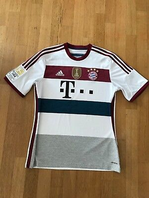 Bayern München Adidas Away-Shirt Robben #10 size L used w patches