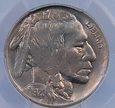 1920 Buffalo Nickel Pcgs Ms 63 Some Pale Pastels With A Great Original Look